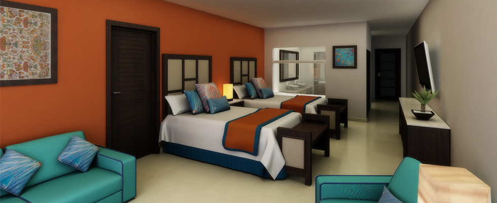 Aquatravel for Habitacion familiar junior barcelo ixtapa